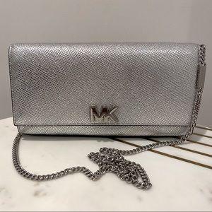 Michael Kors Mott Leather Clutch Bag